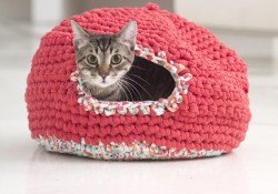 Crochet Cat Bed Pattern Free Embedded Image Permalink Crochet Crochet Crochet Patterns Free