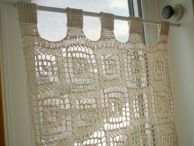 Crochet Curtain Patterns Blocks In Blocks Curtain Lien Lu Free Crochet Pattern