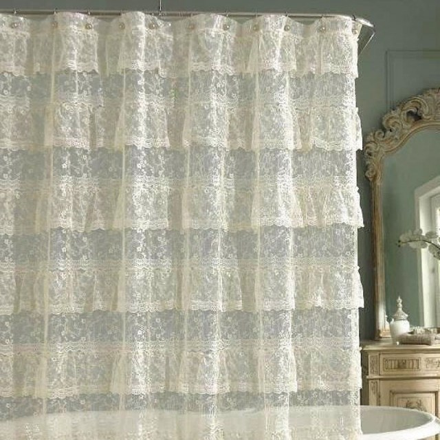 Crochet Curtain Patterns Crochet Bathroom Curtain Lokparitran