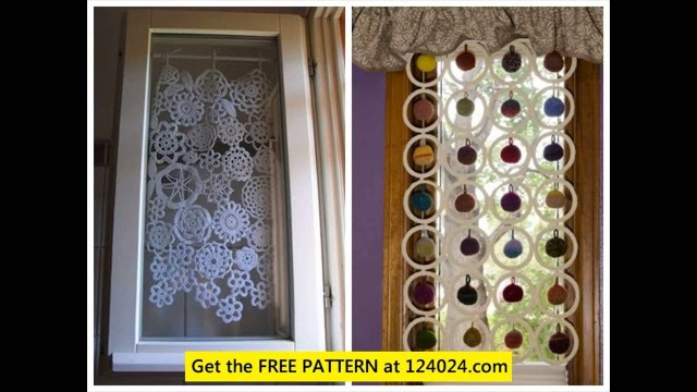 Crochet Curtain Patterns Crochet Lace Curtain Pattern Youtube