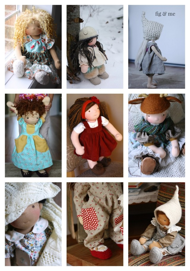 Crochet Doll Clothes Patterns Doll Clothing Patterns And Tutorials Fig Me
