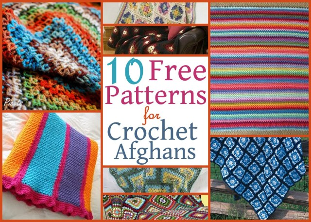 Crochet For Beginners Patterns Free 10 Free Patterns For Crochet Afghans Allfreecrochetafghanpatterns