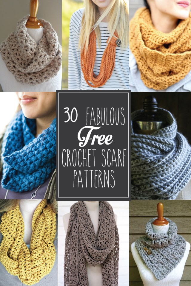 Crochet For Beginners Patterns Free 30 Fabulous And Free Crochet Scarf Patterns