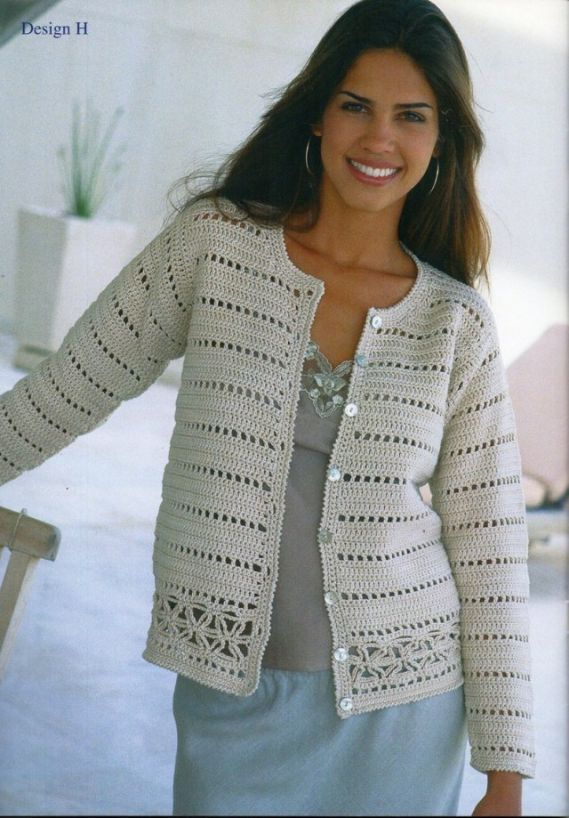 Crochet Long Cardigan Pattern Womens Crochet Cardigan Crochet Pattern Lacy Crochet Jacket V Etsy