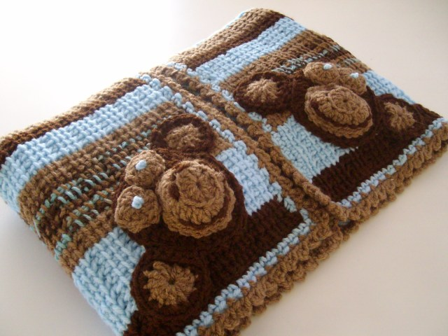 Crochet Monkey Blanket Pattern Apple Blossom Dreams Welcome A J
