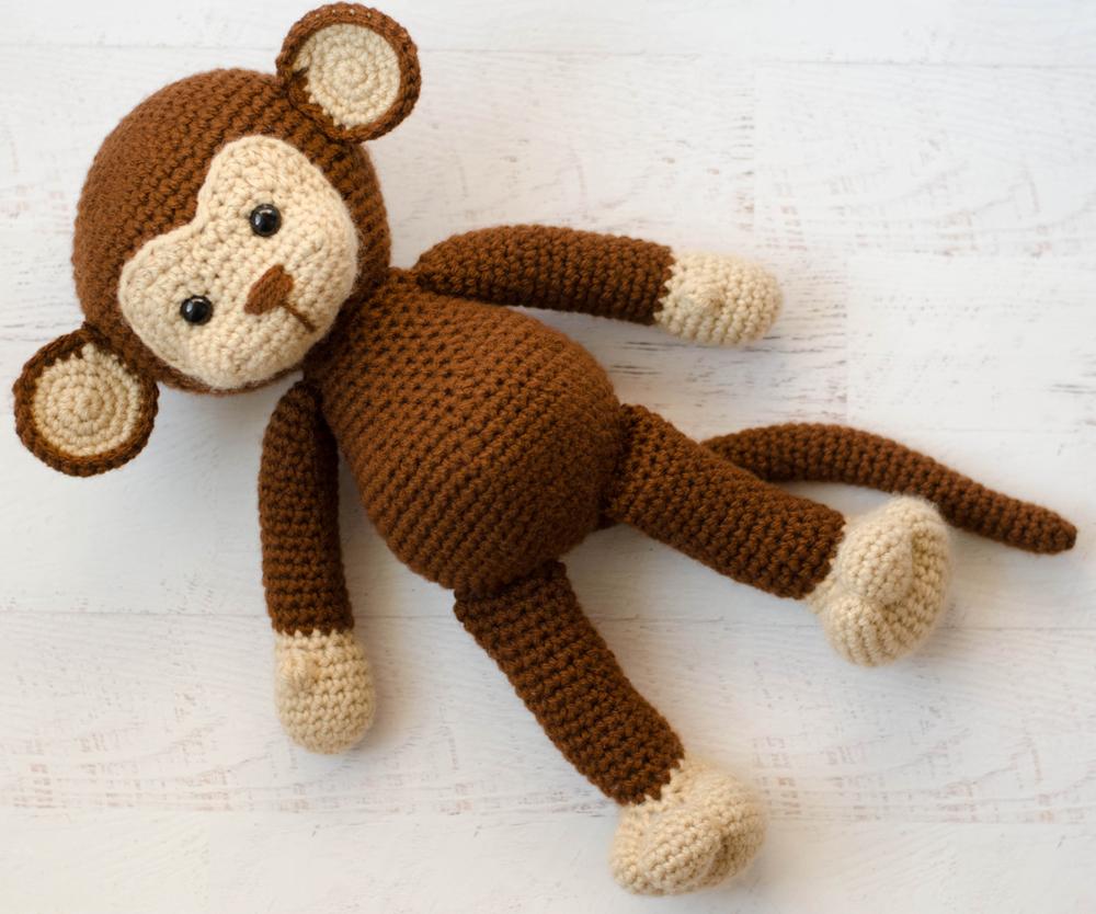 Crochet Monkey Blanket Pattern Meet Michael The Monkey Crochet 365 Knit Too