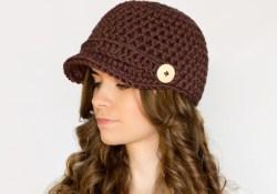 Crochet Newsboy Hat Pattern Free Nifty Newsboy Hat Crochet Pattern