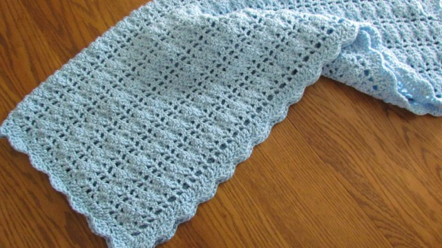 Crochet Shell Stitch Pattern Shell Stitch Ba Blanket Fromy Love Design How To Crochet Shell