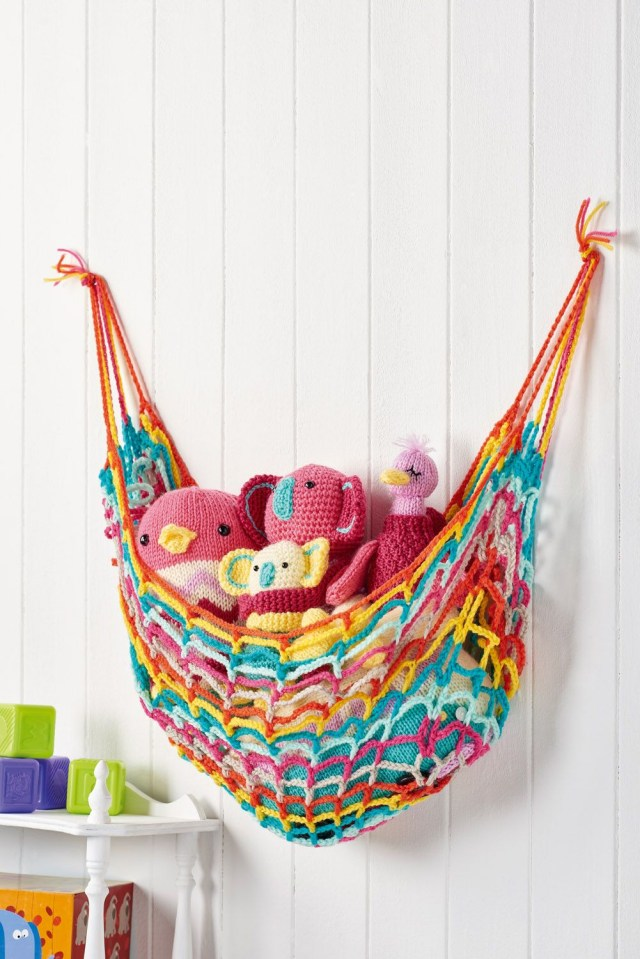 Crochet Toy Hammock Free Pattern Toy Hammock Lets Get Crafting Issue 91 Image Cliqqcouk