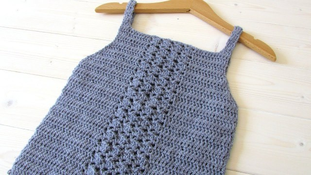 Crochet Vest Top Pattern How To Crochet An Easy Lace Vest Top Any Size Youtube