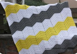 Double Crochet Chevron Pattern Double Crochet Chevron Afghan Very Handy And Much Quicker Than The