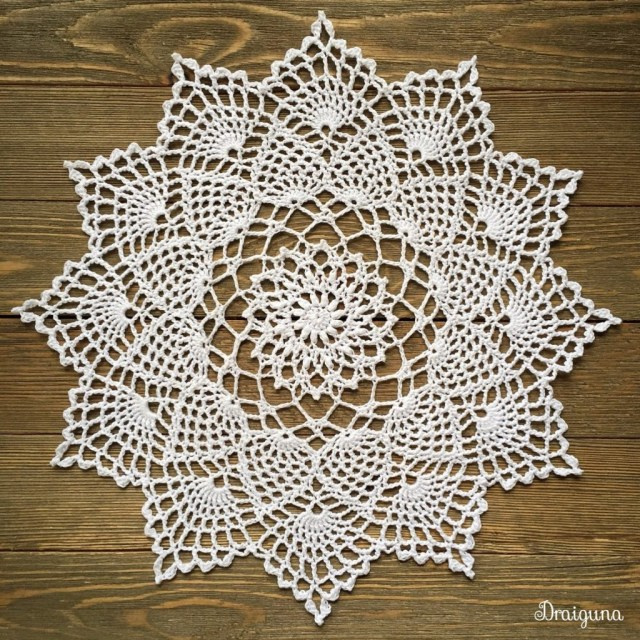 Easy Crochet Doily Patterns For Beginners Free Crochet Pattern For Moonpetals Doily Crochet Kingdom