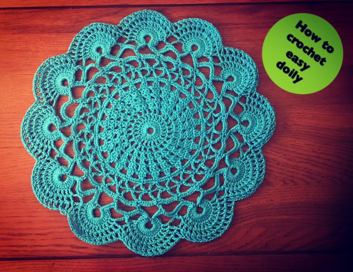 Easy Crochet Doily Patterns For Beginners Knitting Patterns Bag How To Crochet Easy Doily Knitting Patterns Bag
