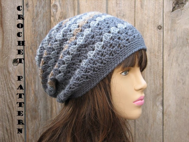 Easy Crochet Slouchy Hat Pattern Free Crochet Slouch Hat Pattern Slouchy Hat Pattern Free Easy