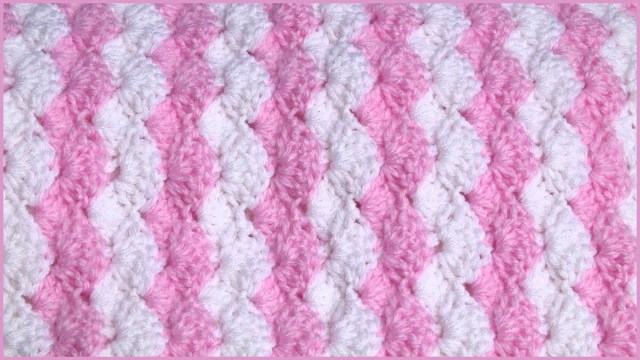 Free Baby Crochet Baby Blanket Patterns How To Crochet A Ba Blanket Using A Shell Stitch Youtube