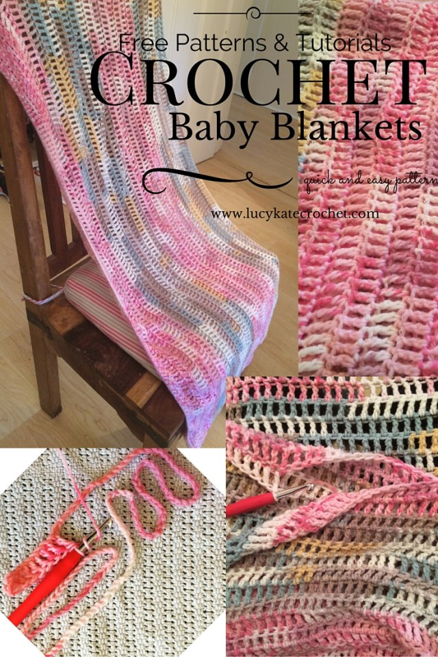 Free Baby Crochet Baby Blanket Patterns Quick And Easy Crochet Ba Blanket Lucy Kate Crochet
