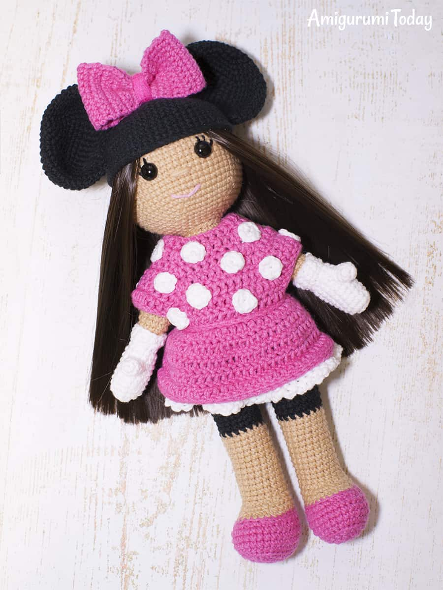 Ravelry: Minnie Mouse Amigurumi pattern by i crochet things | 1200x900