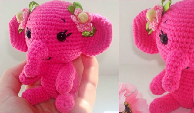 The Sweetest Crochet Elephant Patterns To Try | The WHOot | 374x640