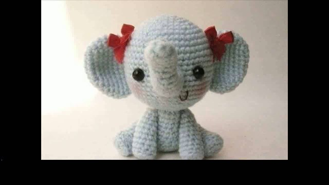 PATTERN: Ellis the Elephant crochet elephant amigurumi | Etsy | 360x640