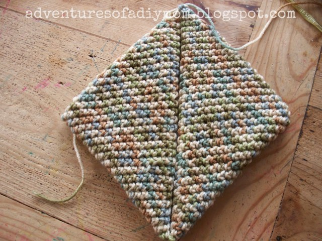 Free Crochet Potholder Patterns How To Crochet A Hotpad Super Easy Version Adventures Of A Diy Mom