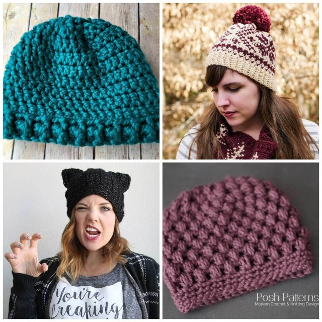 Free Hat Crochet Patterns Free Crochet Hat Patterns Daisy Cottage Designs