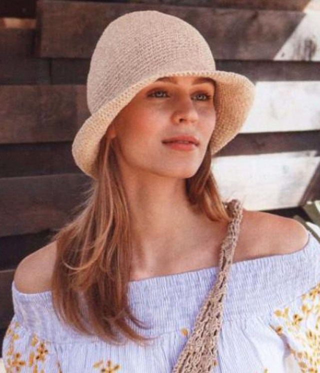 Free Hat Crochet Patterns Summer Hat Crochet Pattern Free