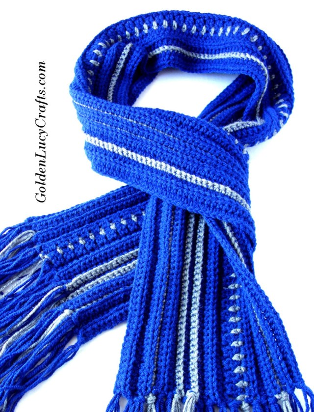 Male Scarf Crochet Pattern Mens Scarf Free Crochet Pattern Goldenlucycrafts
