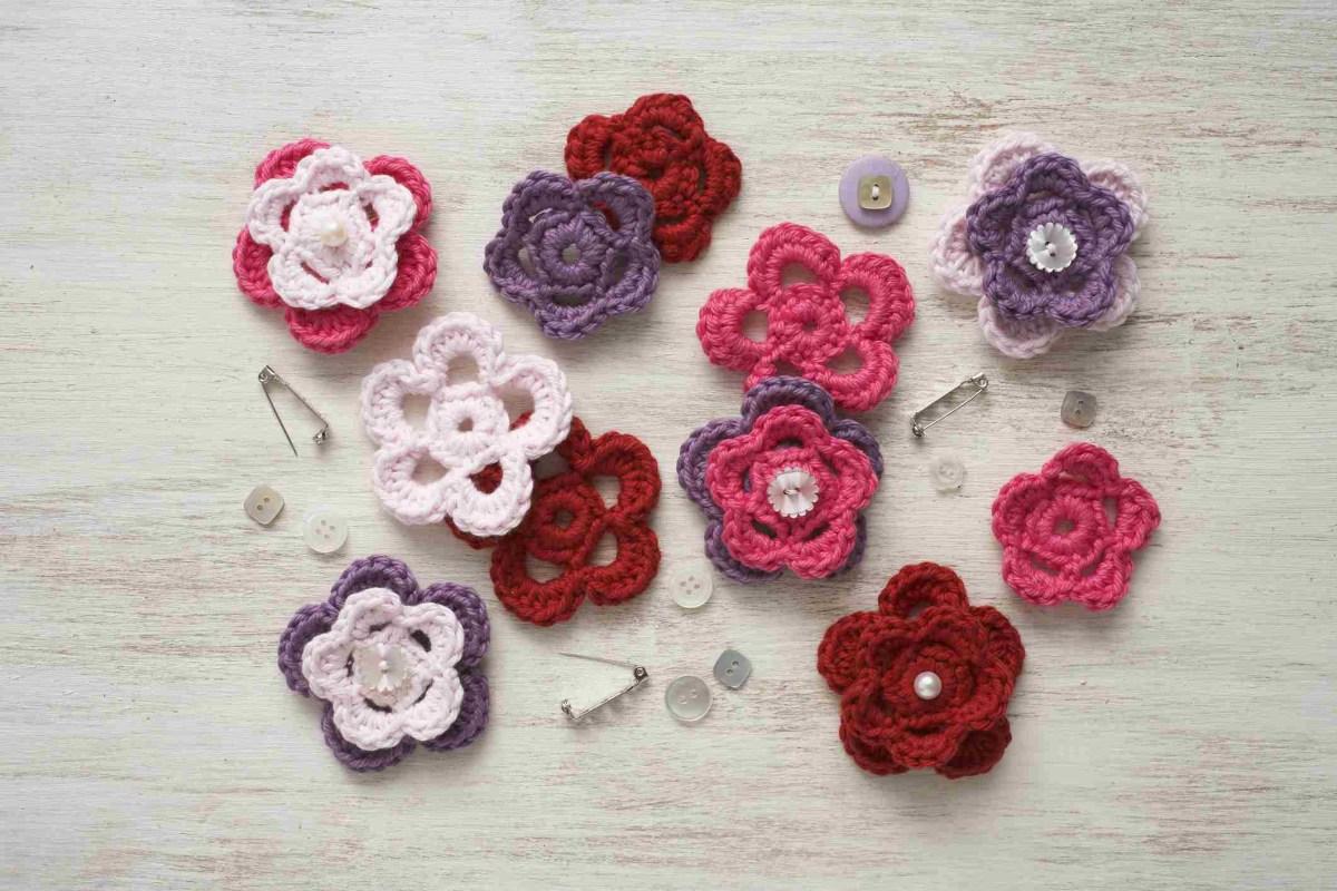 Simple Crochet Rose Pattern Easy Crochet Patterns For Free