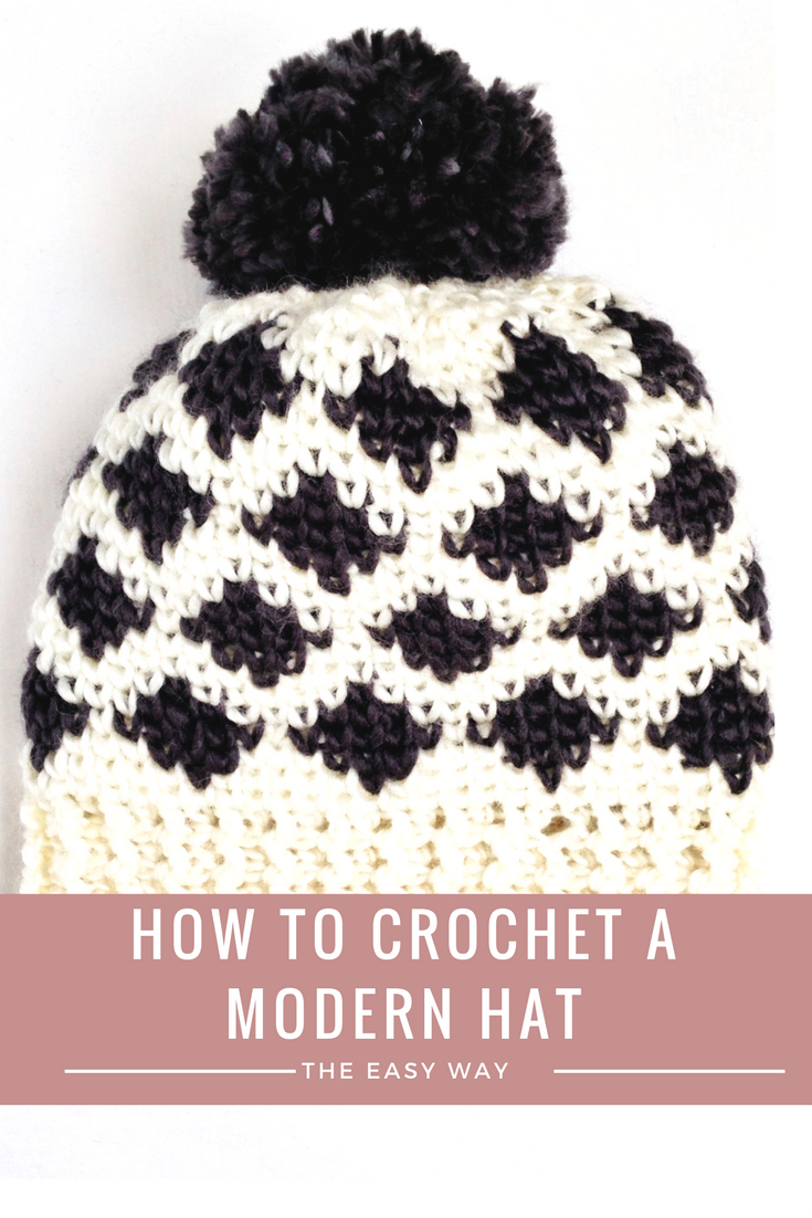 Single Crochet Hat Pattern Modern Crochet Patterns Using The Crochet Waistcoat Stitch Moogly