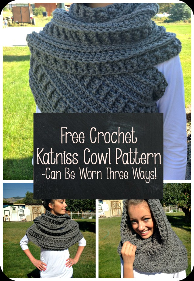 Snood Scarf Crochet Pattern Free Crochet Katniss Cowl Pattern Thefriendlyredfox