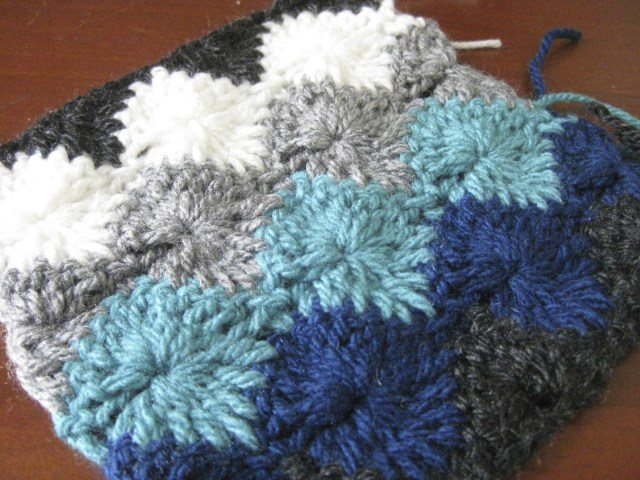 Star Shell Afghan Crochet Pattern Starburst Catherines Wheel Harlequin Full Circle Stitch