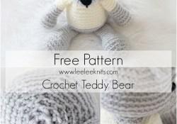 Teddy Bear Crochet Pattern Crochet Teddy Bear Free Pattern Diy Ideas Crochet Pinterest