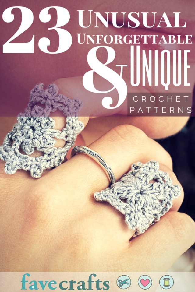 Unusual Crochet Patterns 28 Unusual Unforgettable And Unique Crochet Patterns