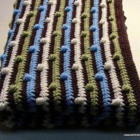 Joseph's Puff Stitch Blanket by Jessie At Home