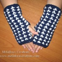 Birds of a Feather Finger - less Gloves ~ Meladora's Creations