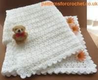 A Baby Shawl ~ FREE Crochet Pattern