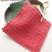 A Simple Pot Holder by Patterns For Crochet