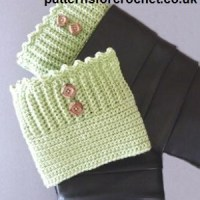 Boot Cuffs ~ Patterns For Crochet