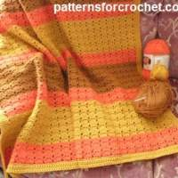 Warm and Cuddly Lapghan ~ Patterns For Crochet