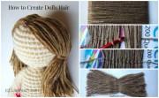 crochet doll hair tutorial