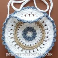 Round Shoulder Bag ~ Patterns For Crochet