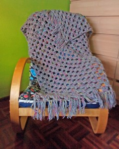 2.5 k - A Quick Granny Stripes Crochet Lapghan ~ The Anarchist Knitter