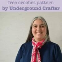 Glimmer Glamour Scarf ~ Underground Crafter