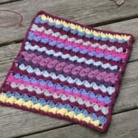Colorburst Afghan Square ~ Ambassador Crochet