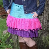Kelli's Favorite Skirt ~ Sick 'Lil Monkeys - Cre8tion Crochet