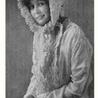 Hooded Scarf ~ Antique Crochet Patterns