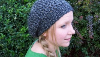 93eddfcf5ff Lovely Lady Slouchy Hat ~ FREE Crochet Pattern