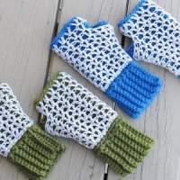Claire Finger less Mittens ~ Crochet Dreamz