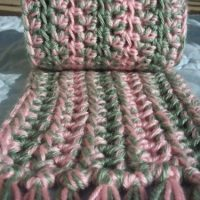 Beautiful and Simple Scarf ~ Stitch11