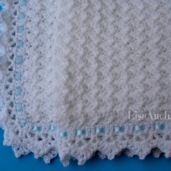 Wheelchair Blanket Folding Chair Upcycle Little Clouds Baby ~ Free Crochet Pattern